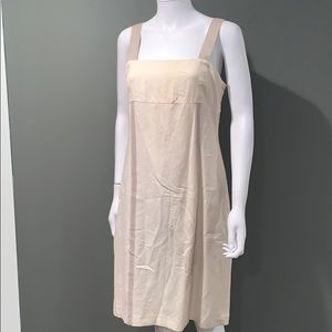 Harve Benard Dresses - Harve Bernard WOMANS cream linen dress SZ.8